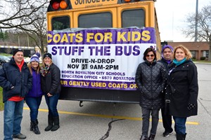 """Stuff the Bus"" for Coats for Kids a Success"