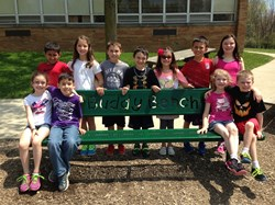 Valley Vista Unveils Buddy Bench