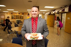 High School Students Welcomed Back to School with New Lunches
