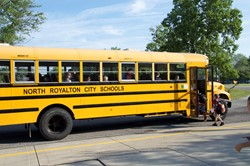 The North Royalton City Schools Transportation Department Provides New School Year Updates at September Board Meeting