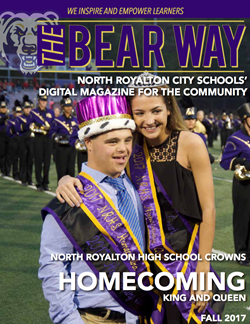The cover of the Bear Way digital magazine fall 2017 issue