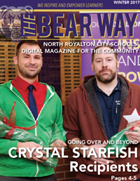 cover of Bear Way winter 2017 magazine