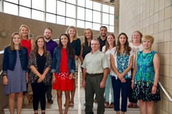 Photo of North Royalton City Schools' new teachers and staff for the 2016-17 school year