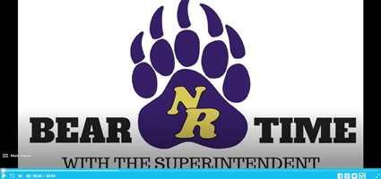 Bear Time with the Superintendent video for December 2018