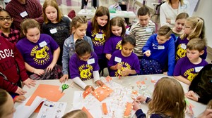 North Royalton City Schools' Elementary Students Come Together to Help Design New School's Playground