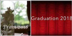 Prom and Commencement Videos available for download