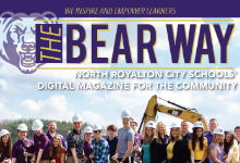Bear Way digital magazine front cover spring 2019