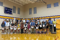 North Royalton Middle School Honor Society Induction