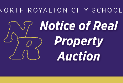 Notice of North Royalton City School District Real Property Auction