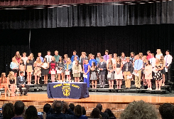 North Royalton High School Inducts New Members into National Honor Society