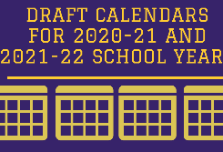 Draft School Calendars for Review
