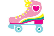 roller skate with a heart