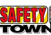 Safety Town words with traffic light