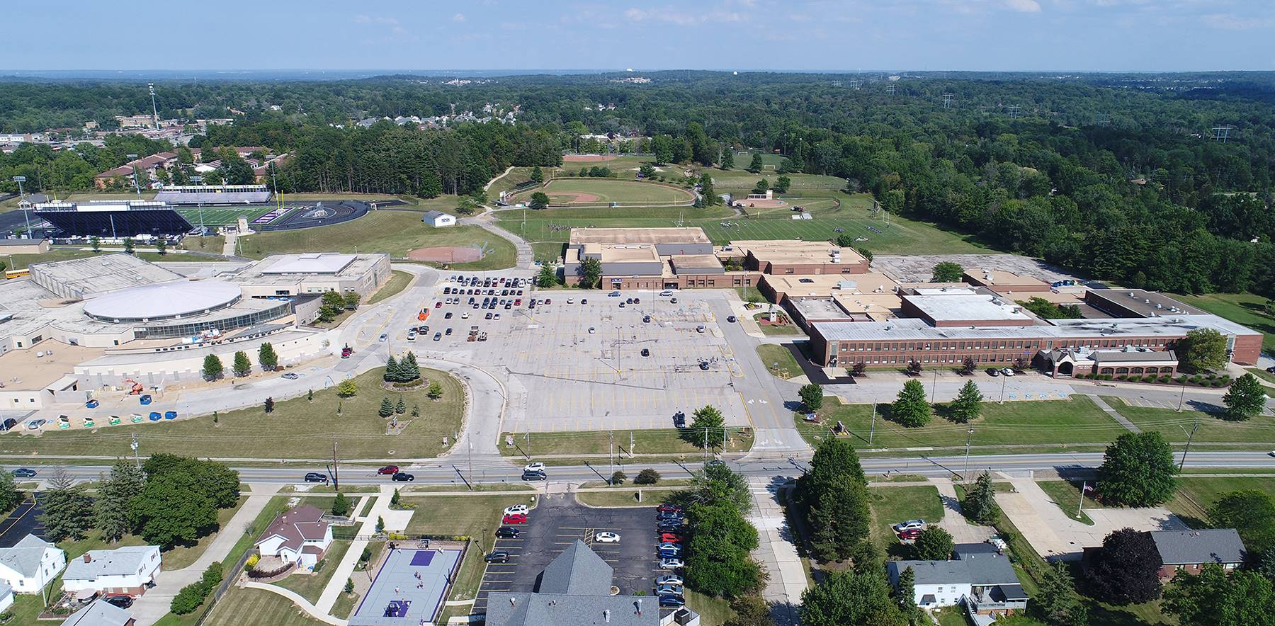 North Royalton Middle/High School Campus - July 2017