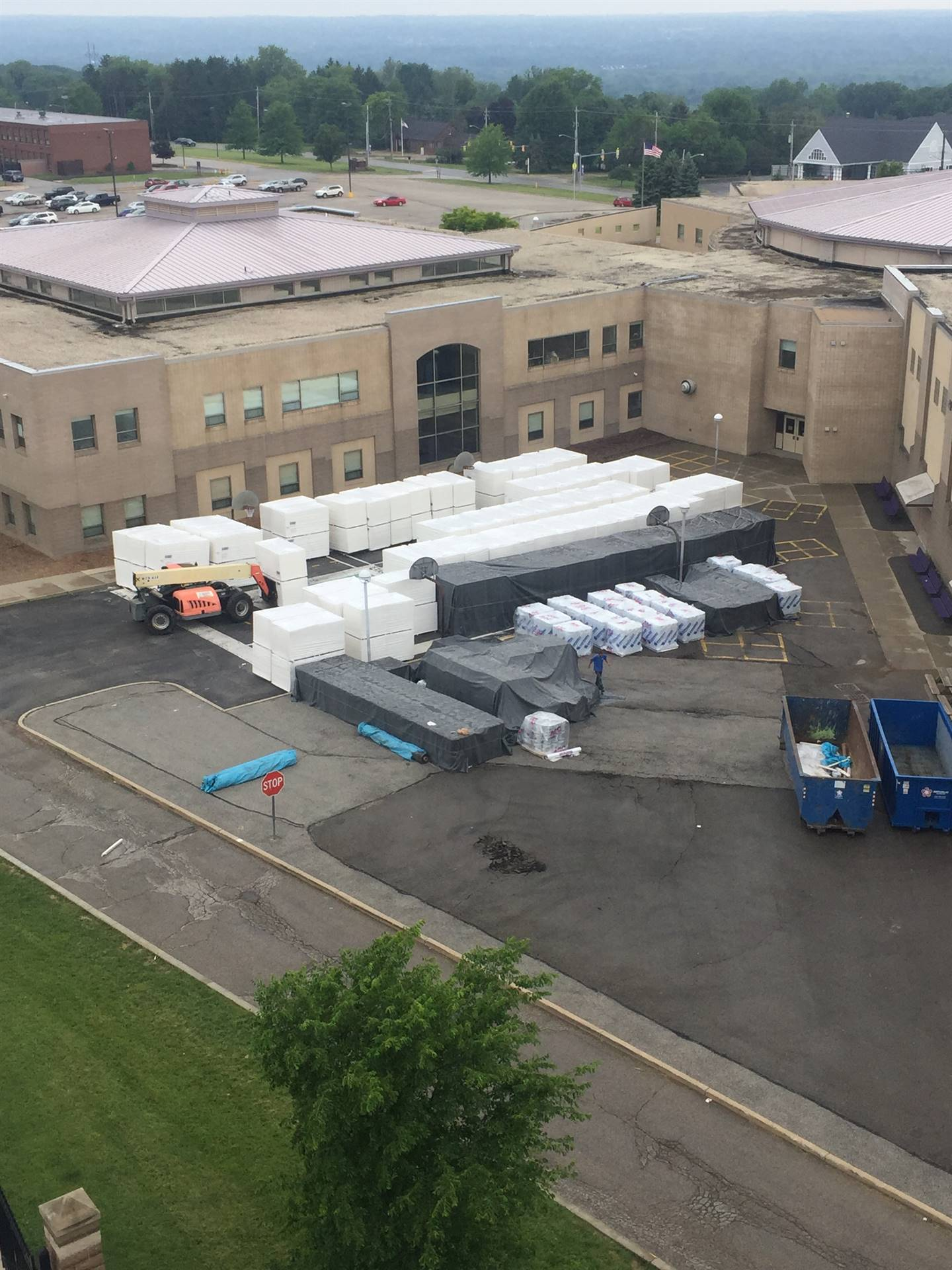 NRMS Roof: Arial view - June 2018