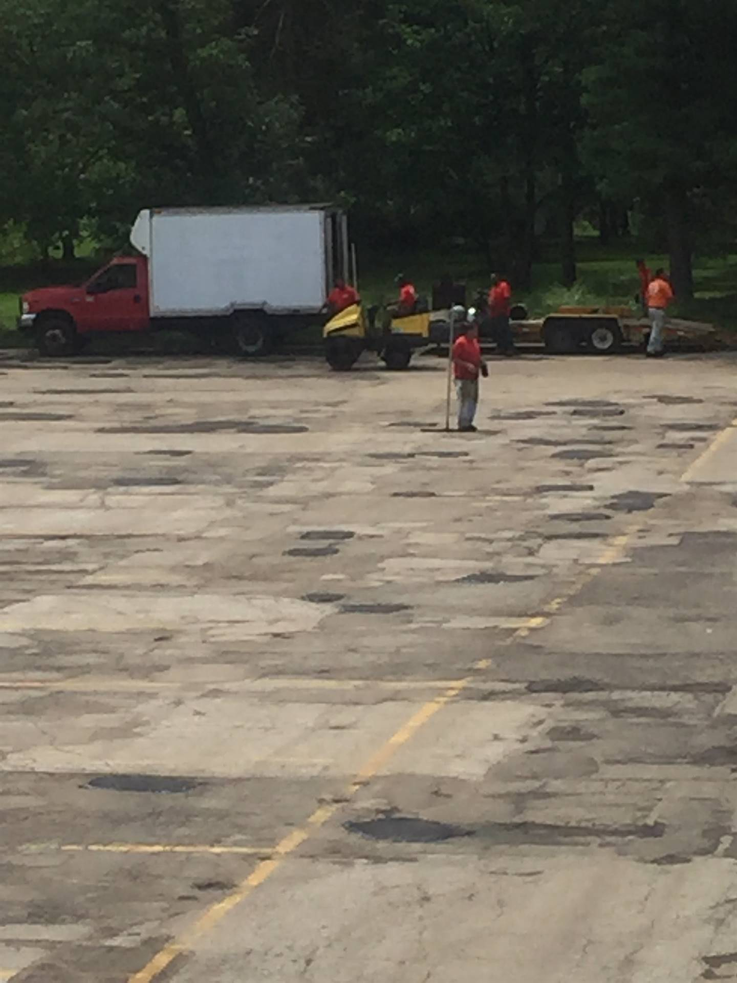NRHS: Asphalt repair - June 2018