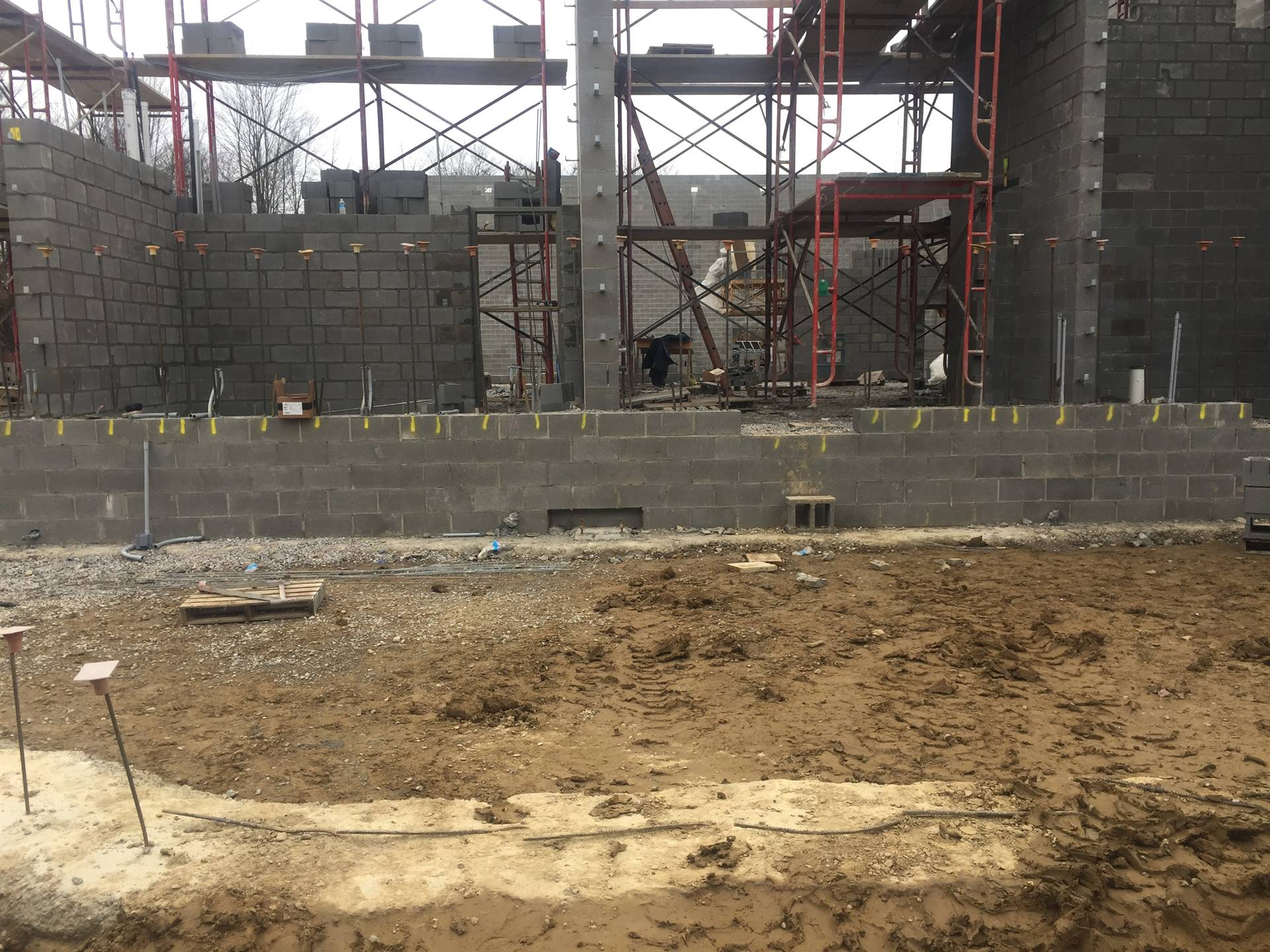 Elementary School construction progress 11-2-19