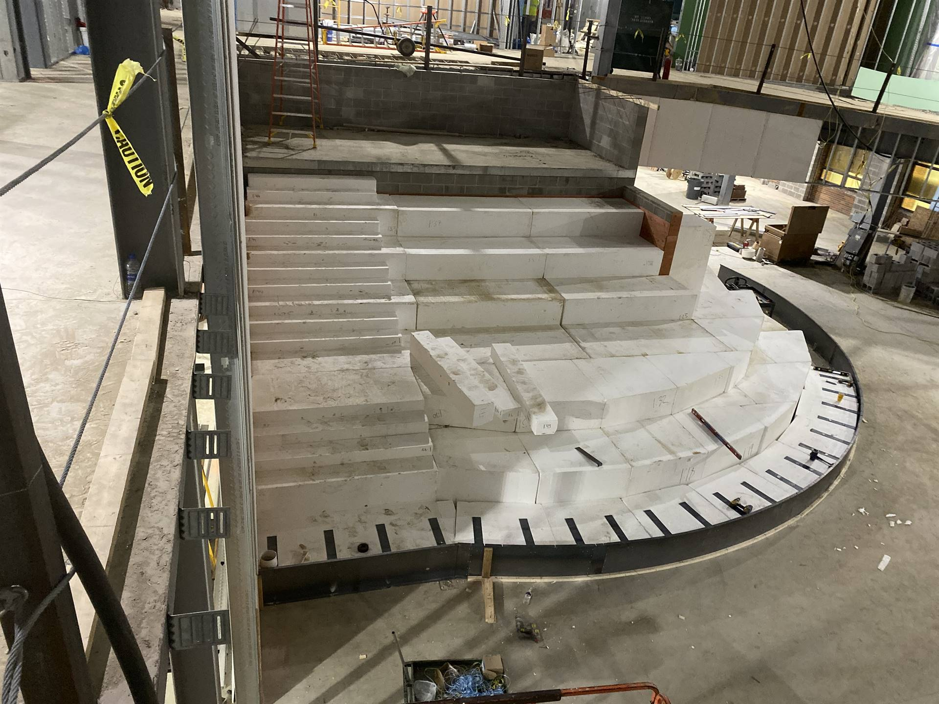 NRHS Collaboration Stairs 12-31-19