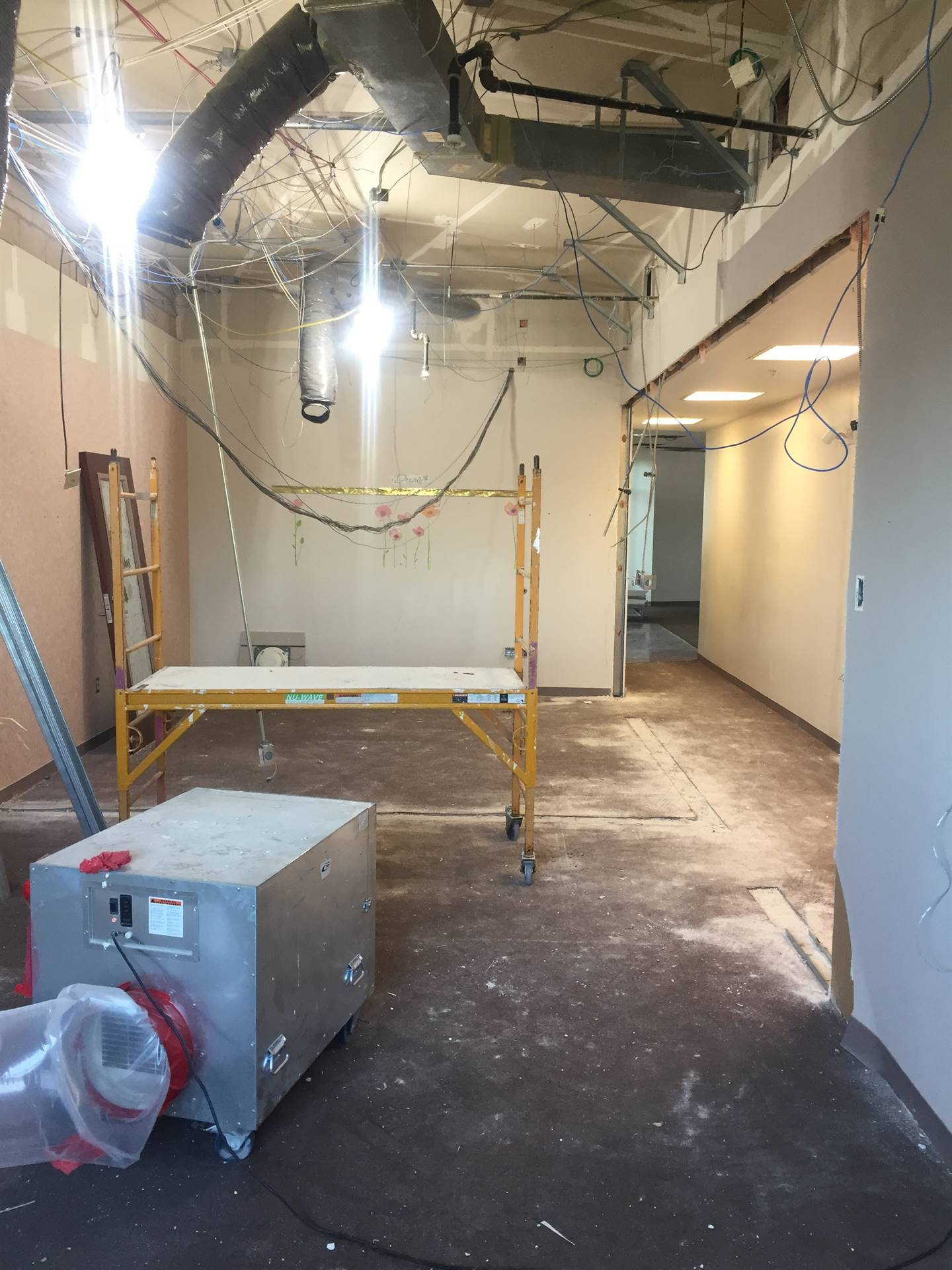 Middle School Main Office Security Entrance Remodeling 6-12-19