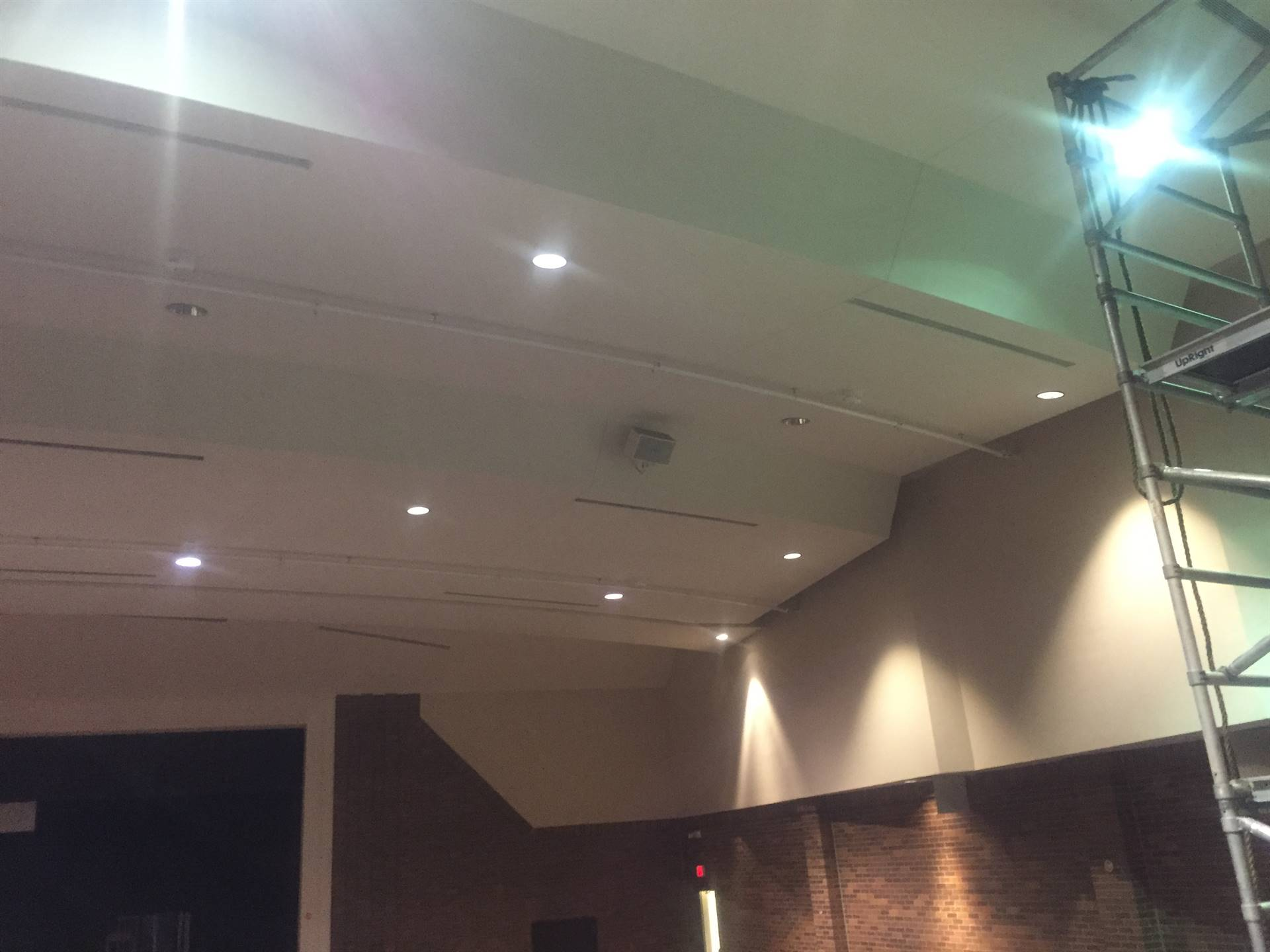 Performing Arts Center fire suppression system 7-26-19