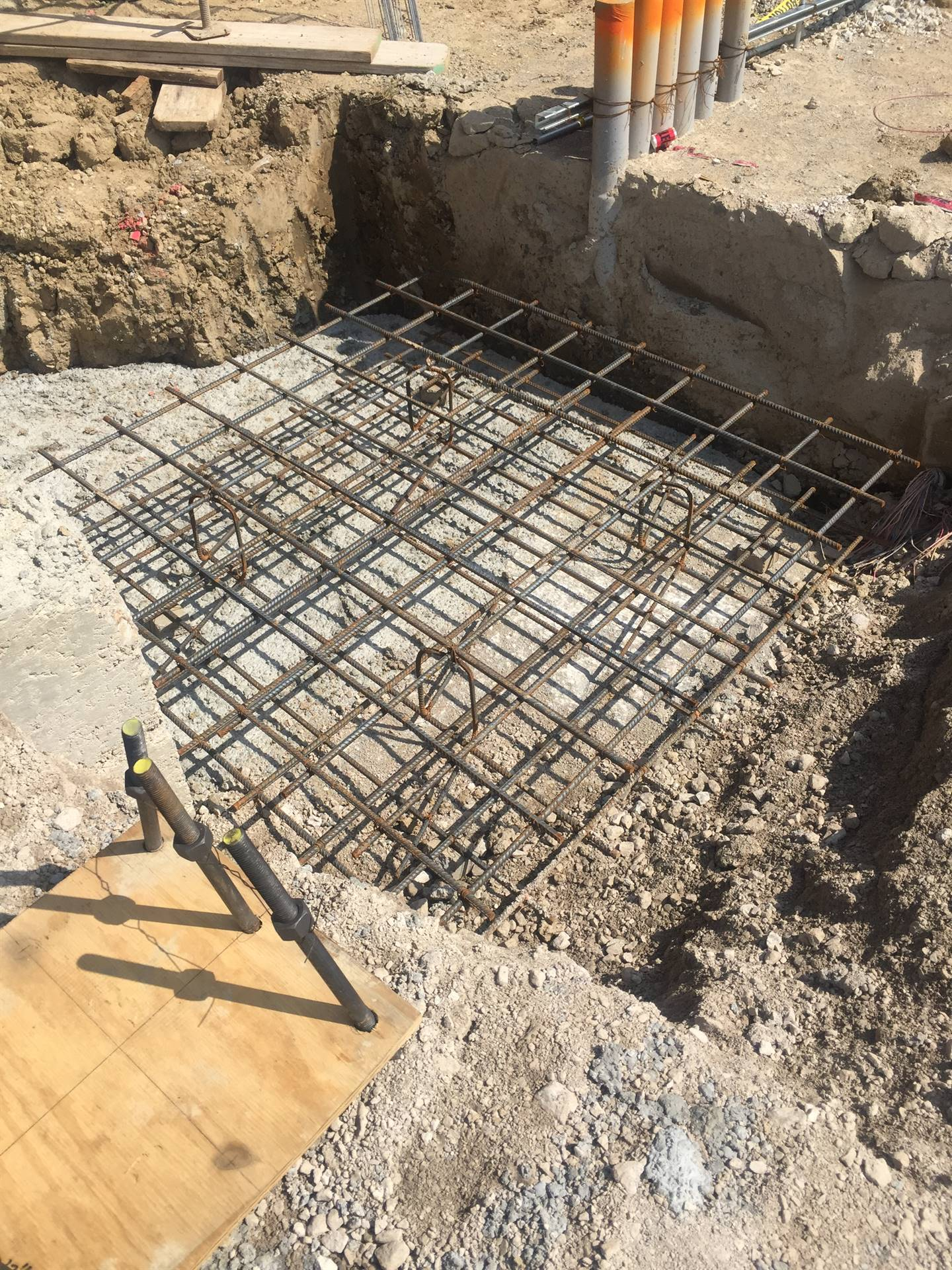 footers installed 7-26-19