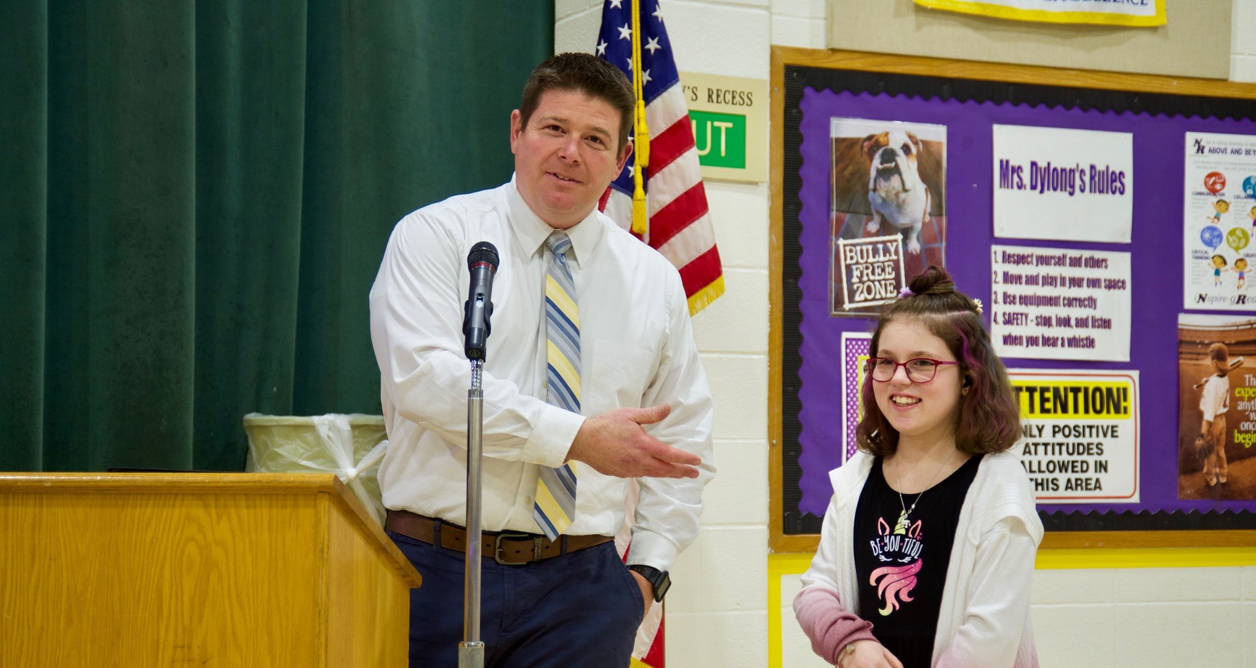 Albion Elementary recognizes student