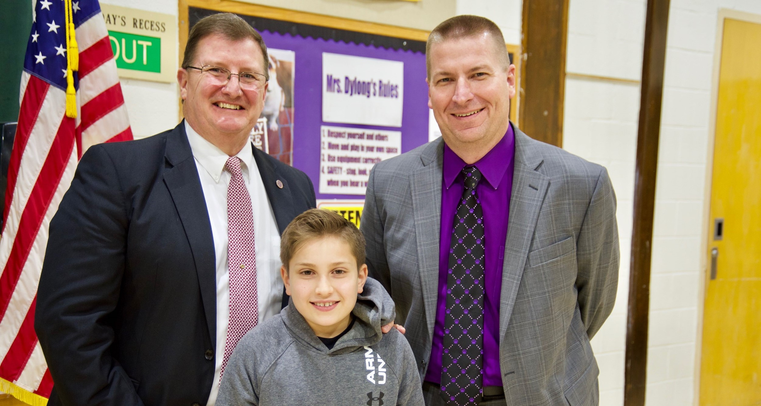 Royal View student recognized at February Board meeting