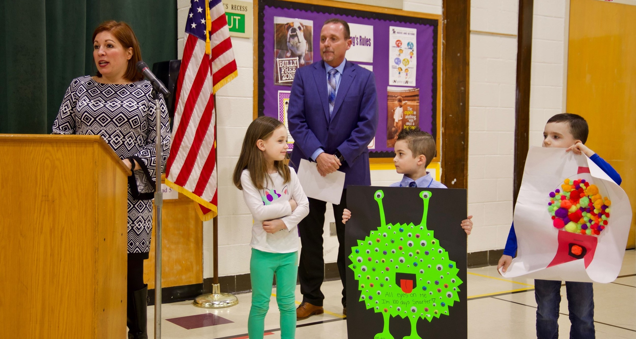 Valley Vista students at February board meeting