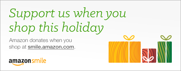 amazon smile shop this holiday graphic